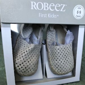 Robeez First Kicks Ellie Espadrille 6-9 Months